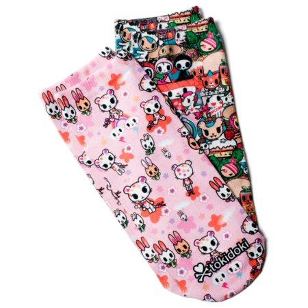 bf0878a94a7 koi - koi by tokidoki Women's No-Show Character Print Socks 2 Pack ...