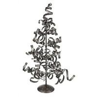 Metal Spiral Tree Décor