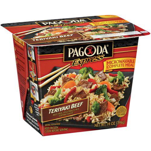 Pagoda Express Complete Meal Beef Teriyaki, 14 oz