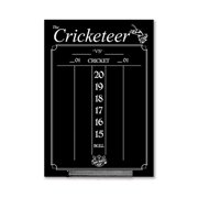 Cricketeer Large Chalkboard Scoreboard – Black