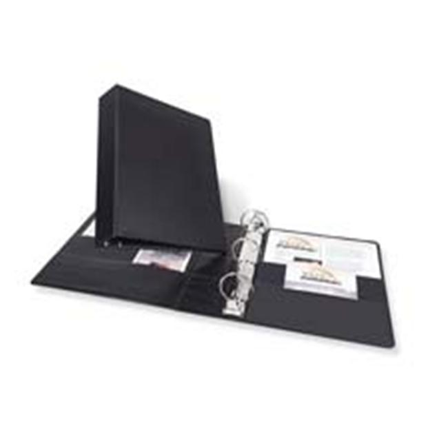 Avery Consumer Products AVE27356 Durable Binder W-Labelholder- 1-. 50inch Capacity- 8-. 50inchx11inch- BK