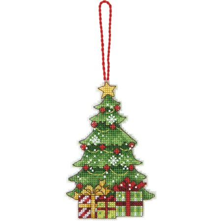 Susan Winget Tree Ornament Counted Cross Stitch Kit, 3