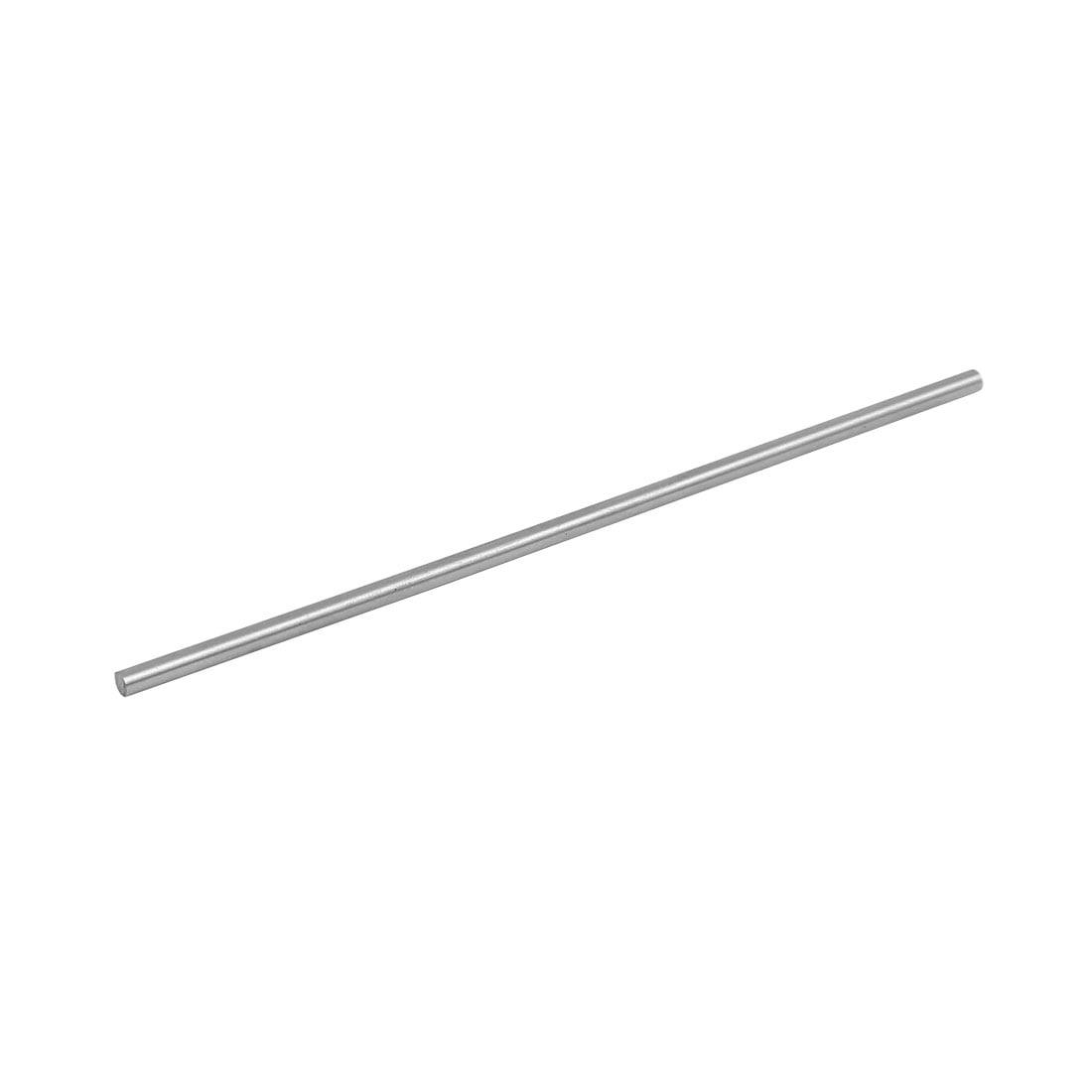2.5mm Dia 100mm Length HSS Round Shaft Rod Bar Lathe Tools Gray by