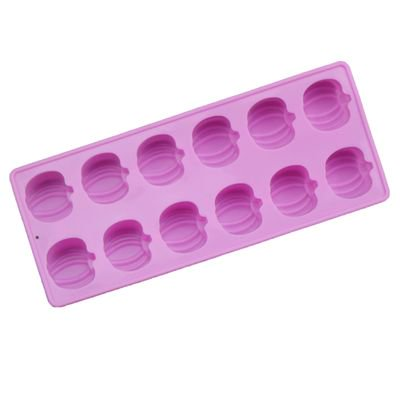 Halloween Ice Cubes Ideas (KABOER Halloween 12 Grid Pumpkin Ice Cube Chocolate Silicone)