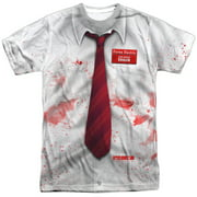 Shawn Of The Dead - Bloody Shirt - Short Sleeve Shirt - Large