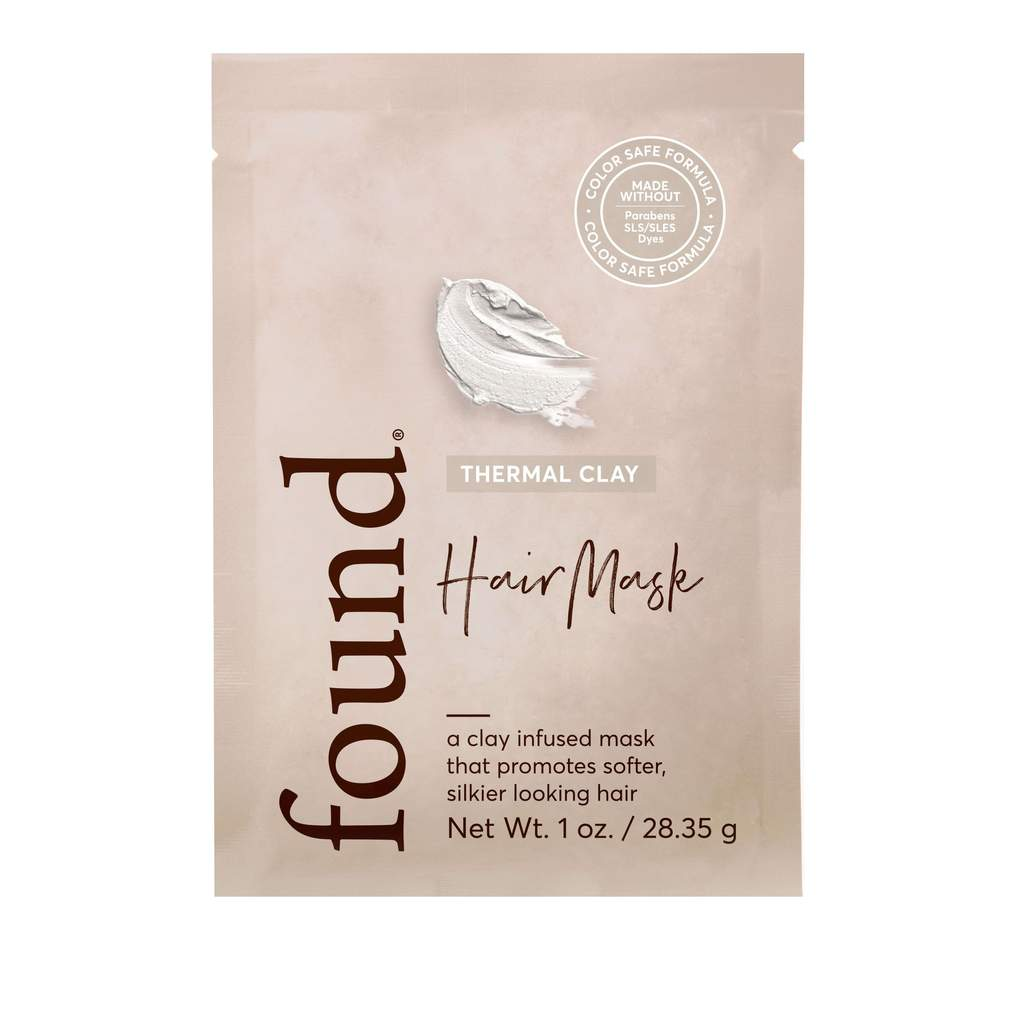 Found Fnd Thermal Clay Self-warming Hair Mask