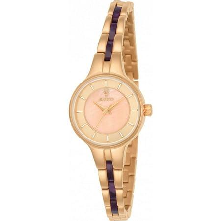 Invicta Womens Gabrielle Union Rose Gold Tone Steel Bracelet   Case Quartz Analog Watch 23322