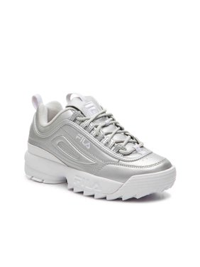 Silver Fila Womens Sneakers & Athletic