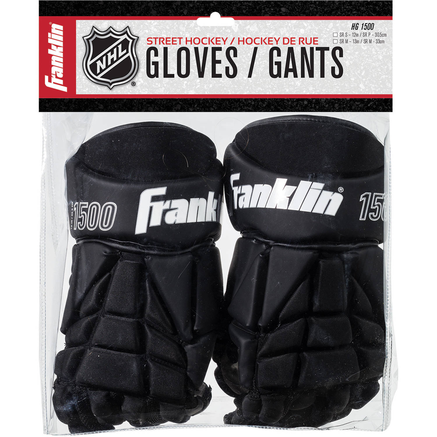 "Franklin Sports HG 1500: Hockey Gloves, Senior Medium 13"" by Franklin Sports"
