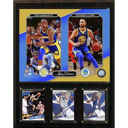 C&I Collectables 1215GSTCHLEG NBA 12 x 15 in. Tim Hardaway- Stephen Curry Golden State Warriors Legacy Collection Plaque - image 1 of 1