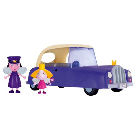 Ben & Holly's Little Kingdom Royal Car Vehicle & Figure 2-Pack