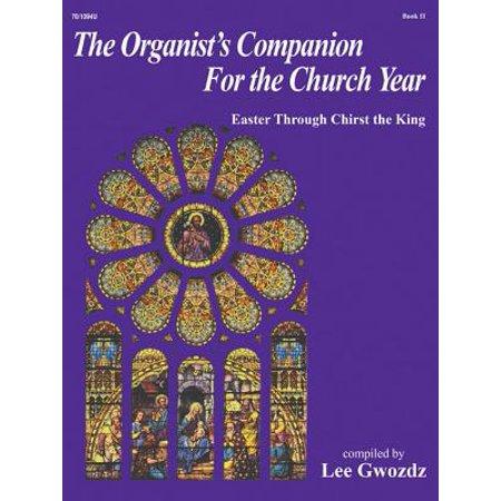 The Organist's Companion for the Church Year, Book II - Lee Gwozdz - SongBook - 701094U