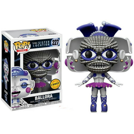 Five Nights at Freddy's Funko POP! Games Ballora Vinyl Figure [Open face Chase -