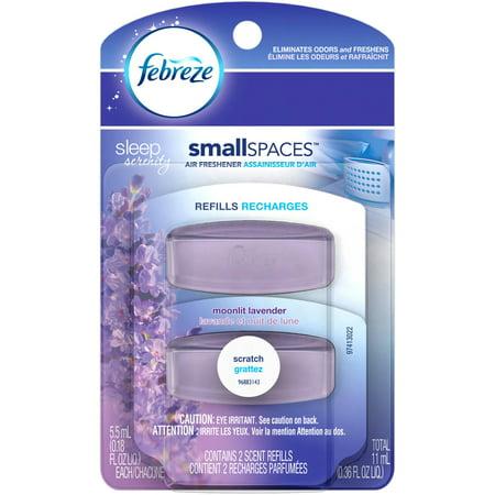 Febreze Sleep Serenity SmallSpaces Moonlit Lavender Air Freshener ...