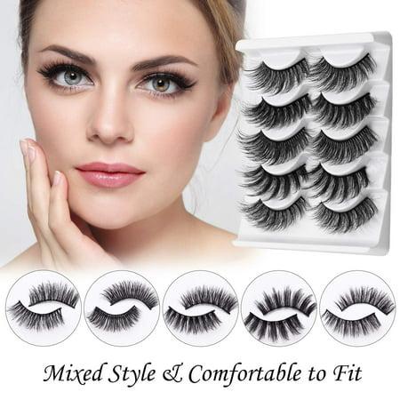 Jolie Beauty Lashes - Ella   Wispy Faux Mink Eyelashes