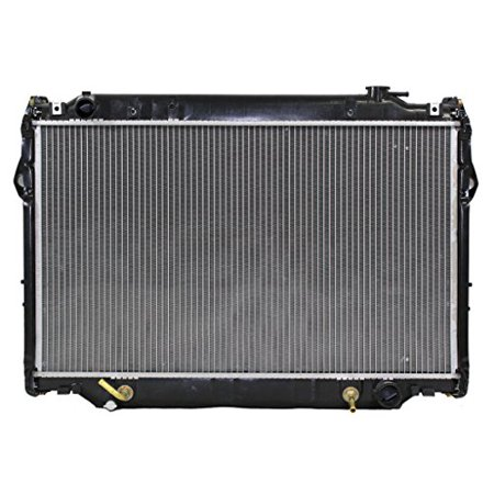 Radiator - Pacific Best Inc For/Fit 1917 93-94 Toyota Land Cruiser AT Plastic Tank Aluminum