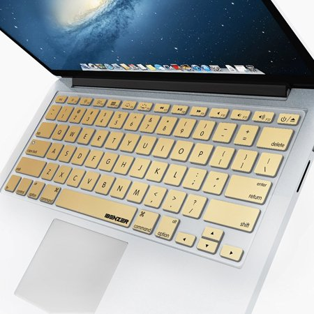 iBenzer - Macaron Series Keyboard Cover Silicone Rubber Skin for Macbook Pro 13