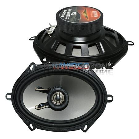 Earthquake Sound T57 TNT Series 2-Way 5' x 7' 400 Watts Car Speaker (pair) 5x7'
