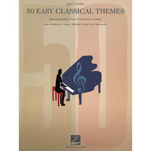 Hal Leonard 50 Easy Classical Themes - Easy Piano