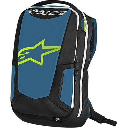 Alpinestars Backpack - Alpinestars 6107717-7016 City Hunter Backpack - Black/Blue/Lime