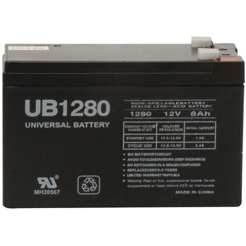 UPG 85989/D5779 Sealed Lead Acid Batteries (12V; 8 AH; .250 Tab Terminals; UB1280F2)