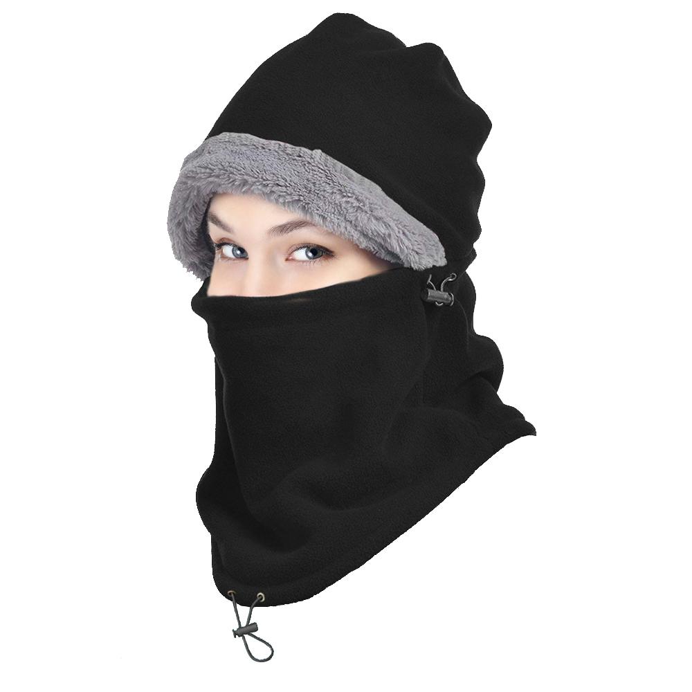 iClover - Winter Ski Full Face Mask Cap Neck Cover Hat 6727d77668d5