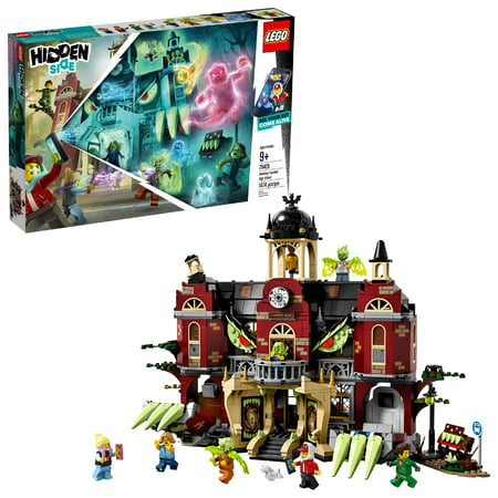 LEGO Hidden Side Newbury Haunted High School Augmented Reality School Playset with Toy App 70425