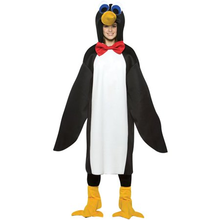 Penguin Lightweight Adult Halloween - Party City Penguin Costume