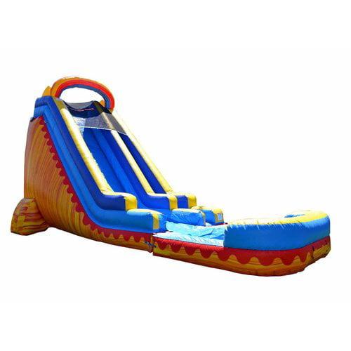 JumpOrange Turbo Inflatable Slide