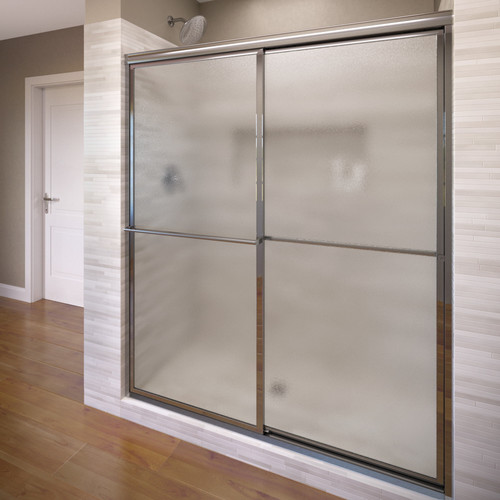 Basco Deluxe 44'' x 68'' Bypass Framed Shower Door