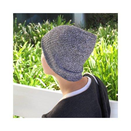 7c408735ed5f3 Beanie Hat for Women by Zodaca Chunky Soft Knit Unisex Hat Cap Slouchy  Skully - Dark ...