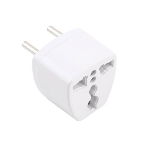 AU UK US to EU AC Power Plug Adapter Adaptor Converter Outlet Home Travel Wall - image 3 of 8
