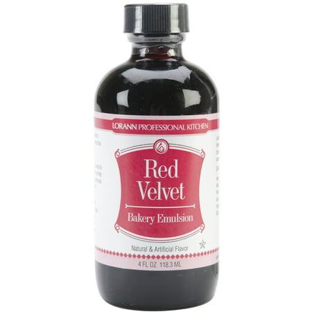 Bakery Emulsions Natural & Artificial Flavor 4oz Red Velvet - Halloween Dessert With Red Velvet Cake