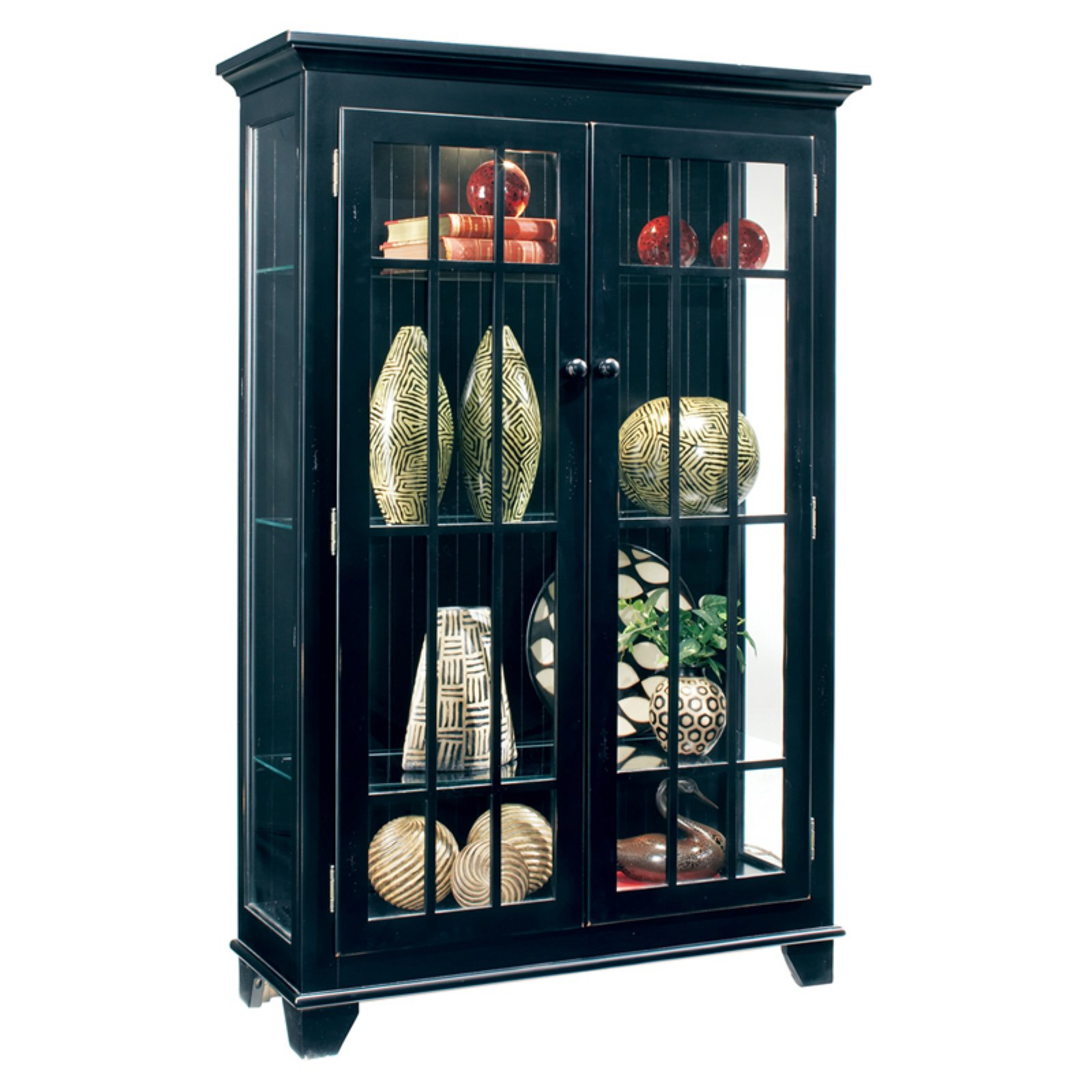 Philip Reinisch Company Color Time Monterey Display Curio Cabinet