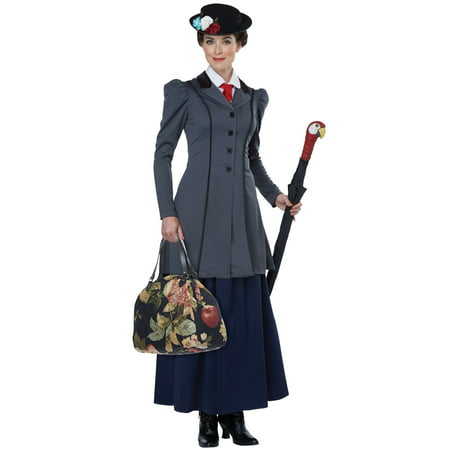 English Nanny Adult Costume - English Class Halloween