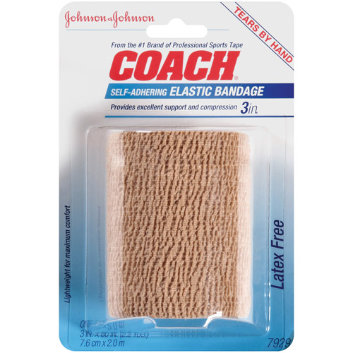 "COACH Sports Care Self-Adhering Elastic Bandage, 3"" x 2.2 yds"
