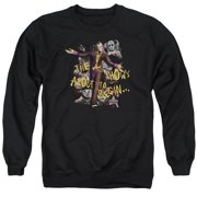 Arkham City About To Begin Mens Crewneck Sweatshirt