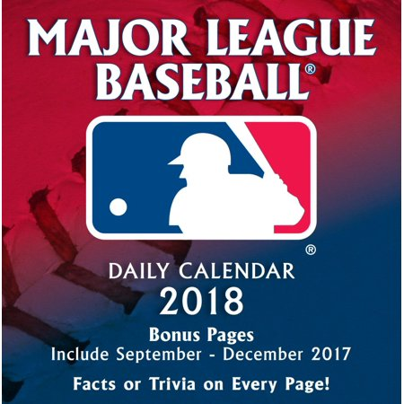TURNER SPORTS MLB ALL TEAM 2018 BOX CALENDAR