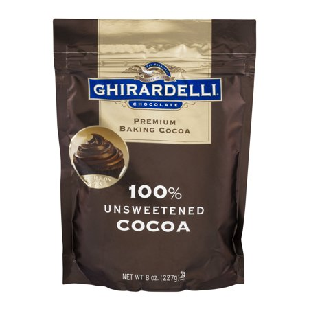Ghirardelli 100% Unsweetened Baking Cocoa 8 oz (French Cocoa Powder)
