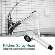 Ashata Kitchen Bathroom Tap Pull-out Faucet Nozzle Shower Spray Head Setting Replacement Part Hot, Faucet Spray Head, Faucet Sprayer
