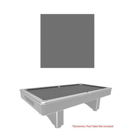 Pre Cut Grey Pool Table Felt Cloth For 8 Foot Billiard Tables By Harvil