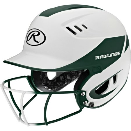 One Senior Softball (Rawlings Velo Senior 2-Tone Softball Batting Helmet w)
