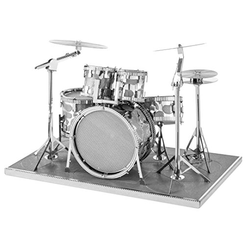 Fascinations Metal Earth 3D Laser Cut Model Drum Set by Fascinations