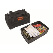 Mile Marker 19-00150 Winch Accessories Kit; Heavy Duty; Incl. 30 ft. Recovery Strap; Gloves; Shackles; Snatch Block; 10 ft. Choker Chain;
