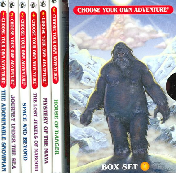 Box Set #6-1 Choose Your Own Adventure Books 1-6: : Box Set Containing: The Abominable Snowman, Journey Under the Sea, Space and Beyond, the Lost Jewels of Nabooti, Mystery of the Maya, House of Danger