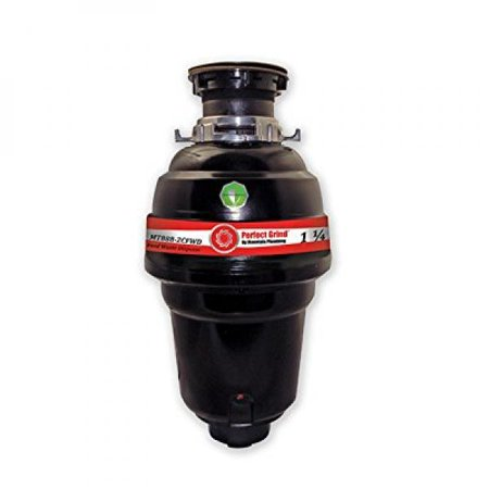 - Mountain Plumbing MT888-2CFWD Perfect Grind Waste Disposer Continuous Feed, 1-1/4 HP