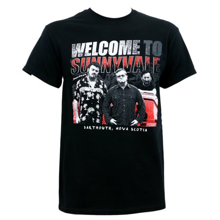 Trailer Park Boys Men's Welcome to Sunnyvale T-Shirt Black ()