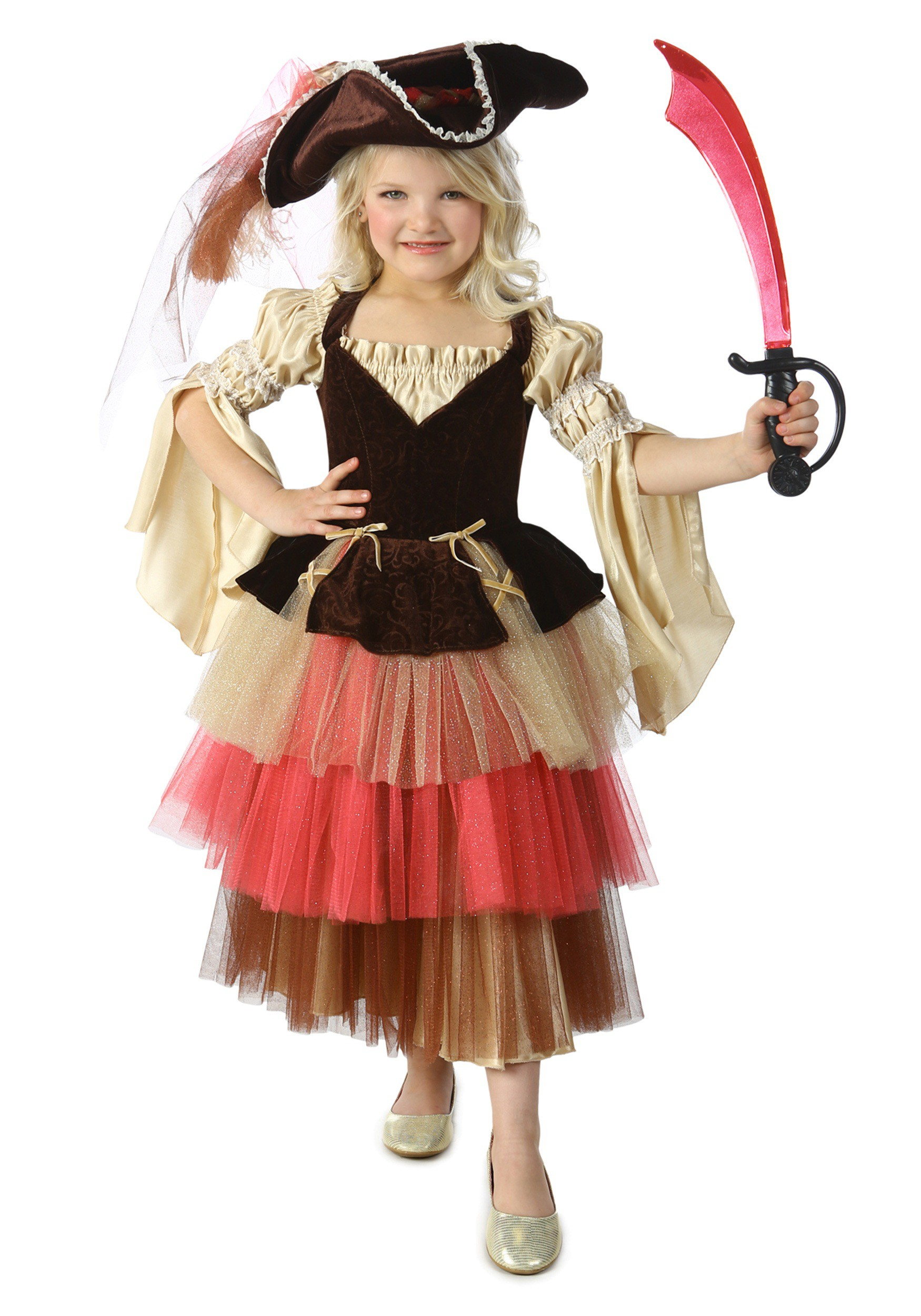 Child's Audrey the Pirate Costume by Princess Paradise