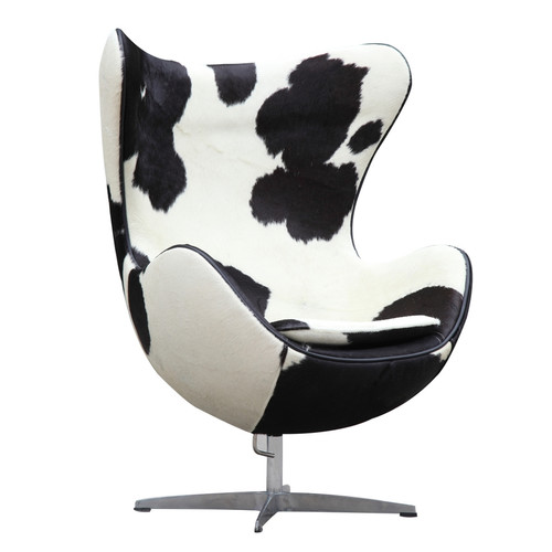 Fine Mod Imports Inner Pony Hide Arm Chair