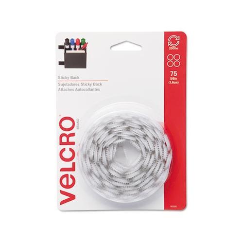 Velcro Sticky Back 90090 Hook & Loop Fastener Coins VEK90090
